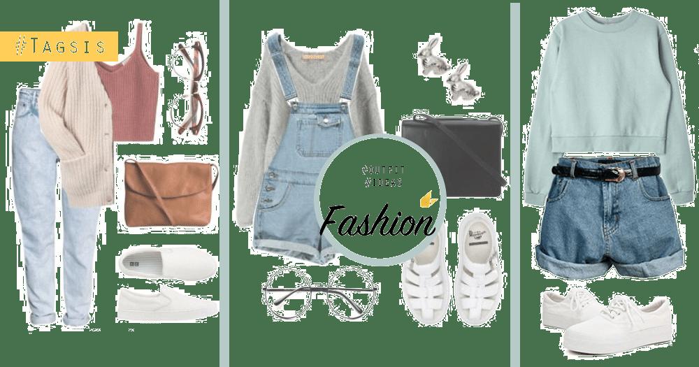 時熱時涼穿什麼好?精心挑選16套日常穿搭靈感,讓你每天美美躂出門~