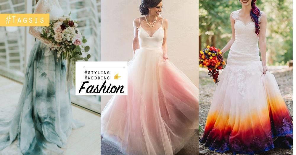 婚紛的款式還真是很多啊~「漸層婚紛」打造獨特性,是女生最愛的夢幻婚禮!