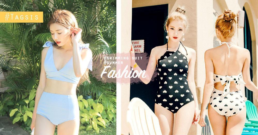 28度的天氣要去海灘啦!14套小心機的泳衣款式,跟著韓國女生買就沒錯啊~