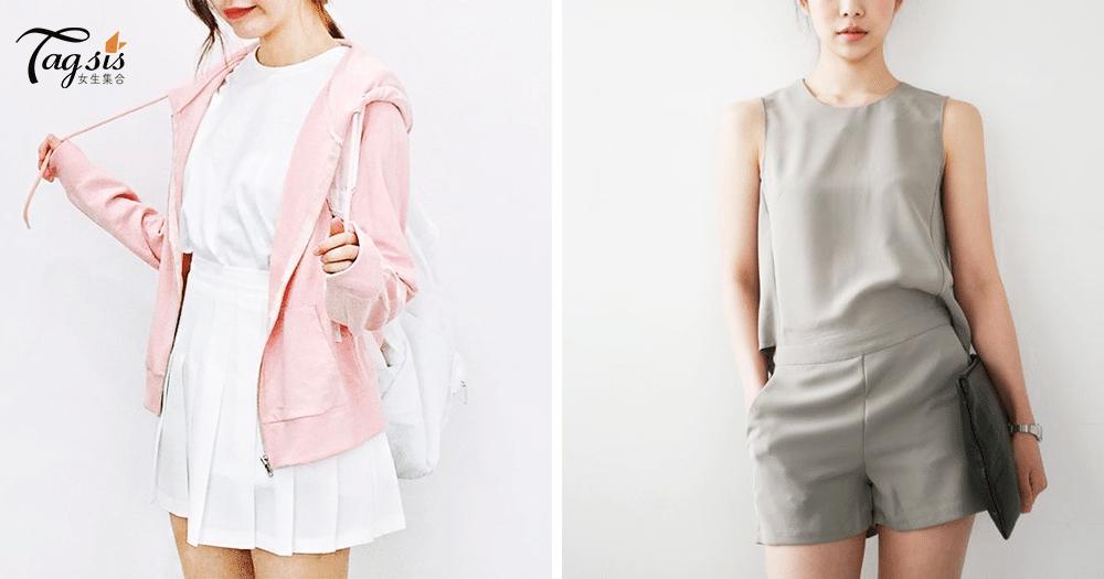 喜歡穿不同顏色反映不同性格!粉色,容易被小事感動;灰色,對愛情天真~