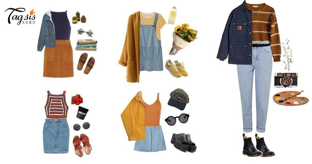 女生必備丹寧items!春天10套牛仔穿搭參考,把你衣櫃中的外套,短褲,短裙通通拿出來吧~