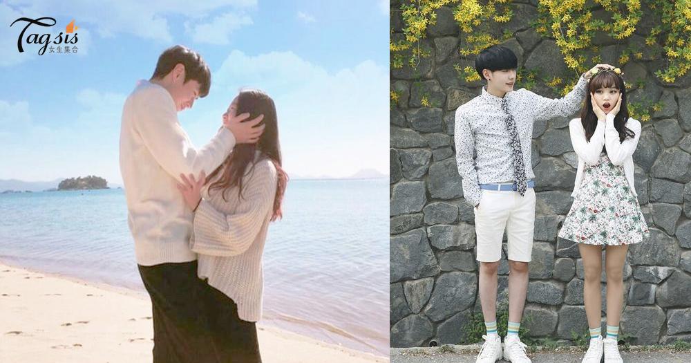 「與伴侶一起很開心,就天天也是情人節啦!」 韓國情侶3套穿著配搭,低調放閃!