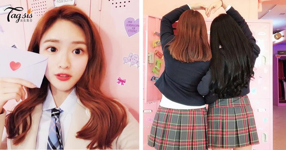一起和閨蜜踏進偶像劇場「校服體驗」是韓國最夯旅遊行程!手機準備爆容量~