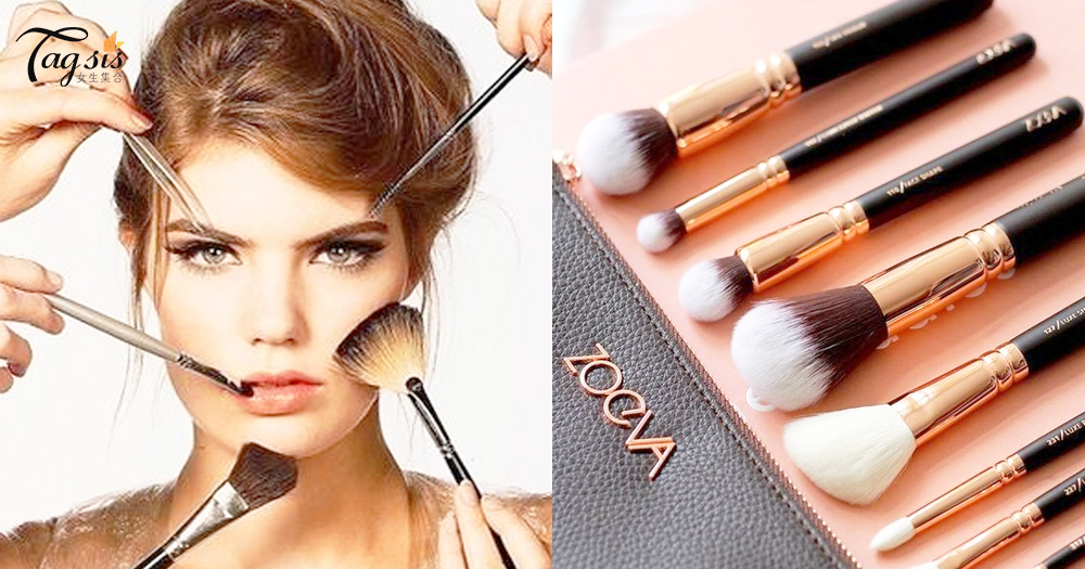 每天都用的化妝掃你有多久沒洗過呢?3個清潔攻略,別再把骯骯的毛擦在臉上啦!